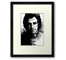 DARK COMEDIANS: Ben Stiller Framed Print