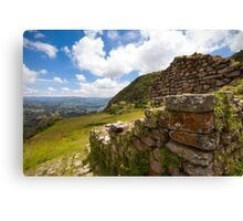 Inca Ruins, Cojitambo, Ecuador 2 Canvas Print