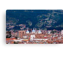 Overlooking Cuenca, Ecuador Canvas Print