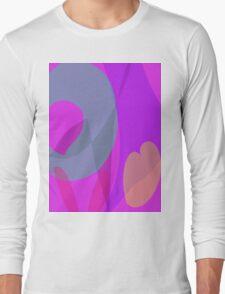 Purple Wind Long Sleeve T-Shirt