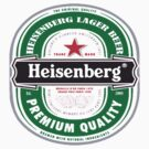 Heisenberg lager beer by ludlowghostwalk