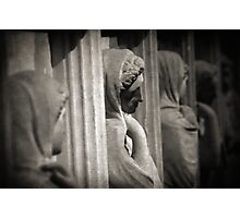 Sarcophagus of the crying women Photographic Print