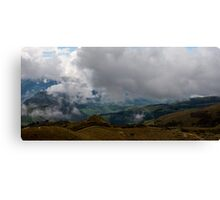 Andes Valley from Atop Cruz Loma Canvas Print