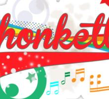 Shonkette (red) Sticker