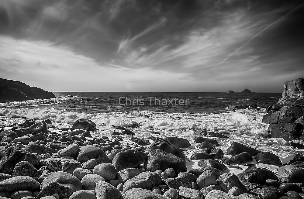 Cot Valley Porth Nanven 4 Black and White by Chris Thaxter