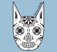 Dia de los ManBat - Hero sugar skull Baby Tee