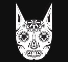 Dia de los ManBat - Hero sugar skull Kids Tee