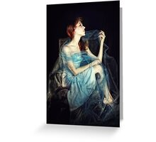 How the Moon Romances Greeting Card