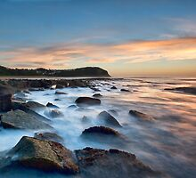 Forrestors Beach by Malcolm Katon