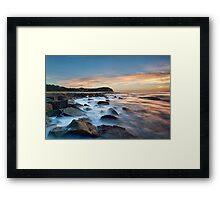 Forrestors Beach Framed Print