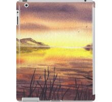 Peaceful Sunset At The Lake iPad Case/Skin