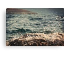 Waves in Time Canvas Print