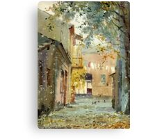 Fall motive Canvas Print