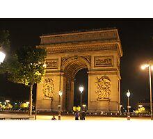 L'Arc de Triomphe Photographic Print