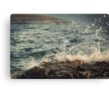 Waves in Time II Canvas Print