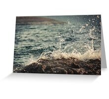Waves in Time II Greeting Card