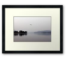2 Geese over Coniston Framed Print