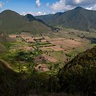 Pululahua Crater in Ecuador 2 by Paul Wolf