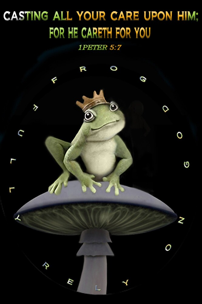 。◕‿◕。 FROG PICTURE WITH  BIBLICAL TEXT。◕‿◕。  by ✿✿ Bonita ✿✿ ђєℓℓσ