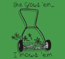 She grows I mows by Nicole  McKinney