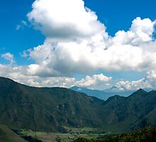 Pululahua Crater in Ecuador 3 by Paul Wolf