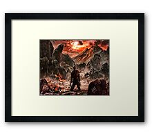 Defiant to the End Framed Print