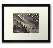 By Wind And Tide Framed Print