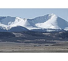 Afternoon South Park Mountain Scene Photographic Print