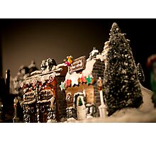 Hogsmeade In Winter #2 Photographic Print