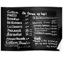 Amsterdam - Gollem Cafe - What's on Tap? Poster