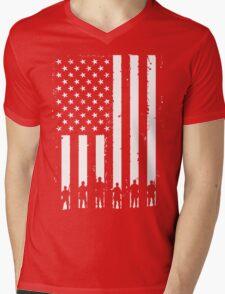 Murica! Mens V-Neck T-Shirt