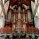Amsterdam - Oude Kerk - The Organ by rsangsterkelly