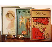 Vintage Books Photographic Print