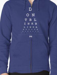 Don't blink - Snellen Chart T-Shirt