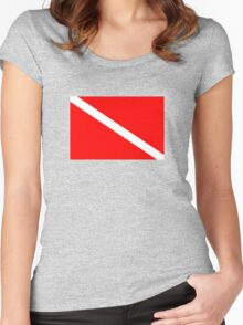 Dive! Women's Fitted Scoop T-Shirt