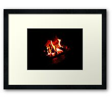 The Irish Turf Fire Framed Print