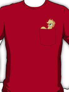 Applejack in a pocket T-Shirt