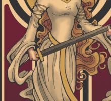 Shieldmaiden of Rohan STICKER Sticker