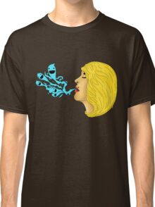 Emily's Ghosts (Black Outline) Classic T-Shirt