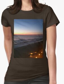 The Light Beyond The Waves Womens Fitted T-Shirt