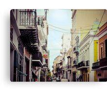 Old San Juan_1, Puerto Rico Canvas Print