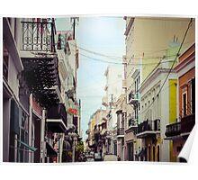 Old San Juan_1, Puerto Rico Poster