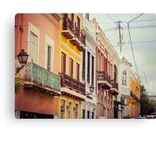 Old San Juan_3, Puerto Rico Canvas Print