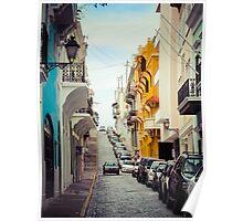 Old San Juan_4, Puerto Rico Poster
