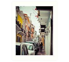 Old San Juan_5, Puerto Rico Art Print