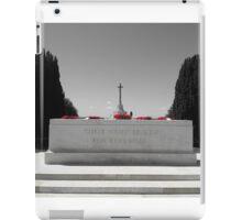 world war iPad Case/Skin