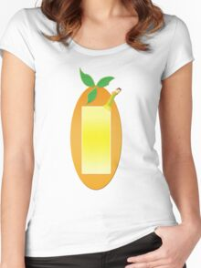 Fruit Shapes Women's Fitted Scoop T-Shirt