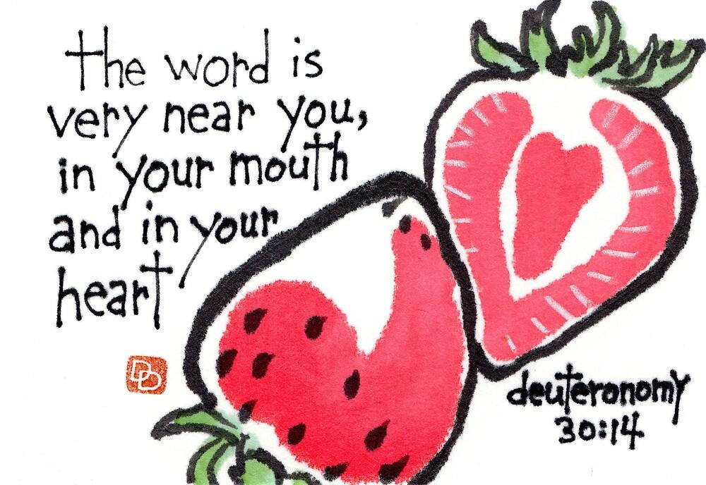 Strawberry Heart (v.2) by dosankodebbie