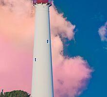 Lighthouse at Cape May NJ by Jim Semonik