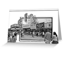The Boardwalk at Seaside Heights, NJ Greeting Card